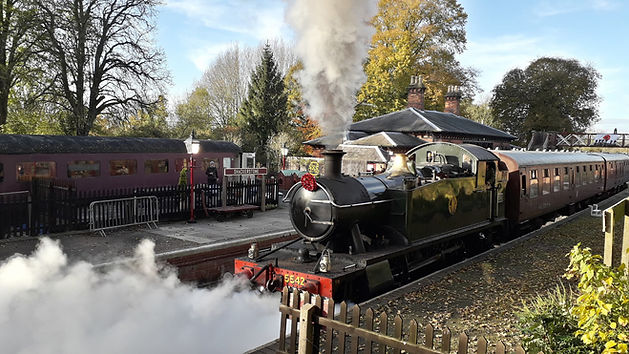 Enjoy a ride on The Battlefield Line during your cycling or walking holiday Credit Chris Simmons SR