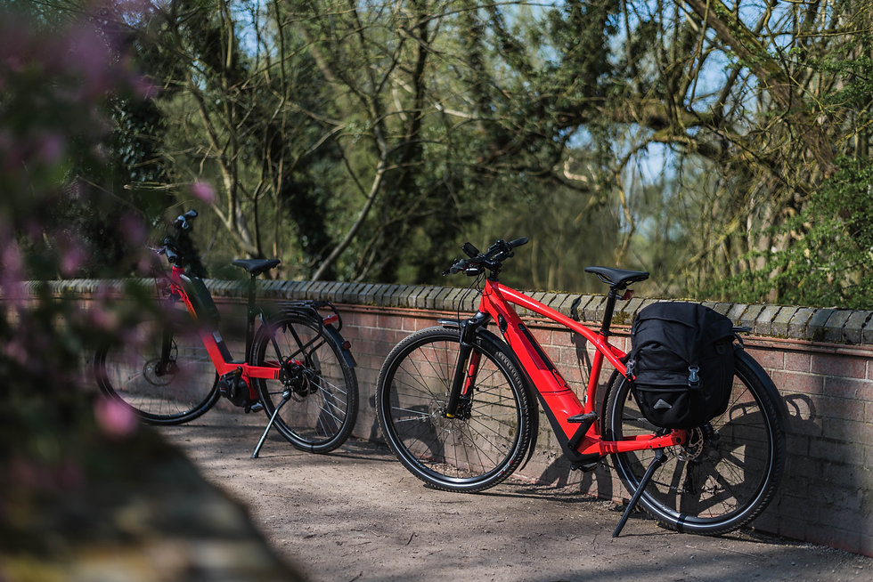An Electric bike cycling holiday is the perfect way to explore the National Forest