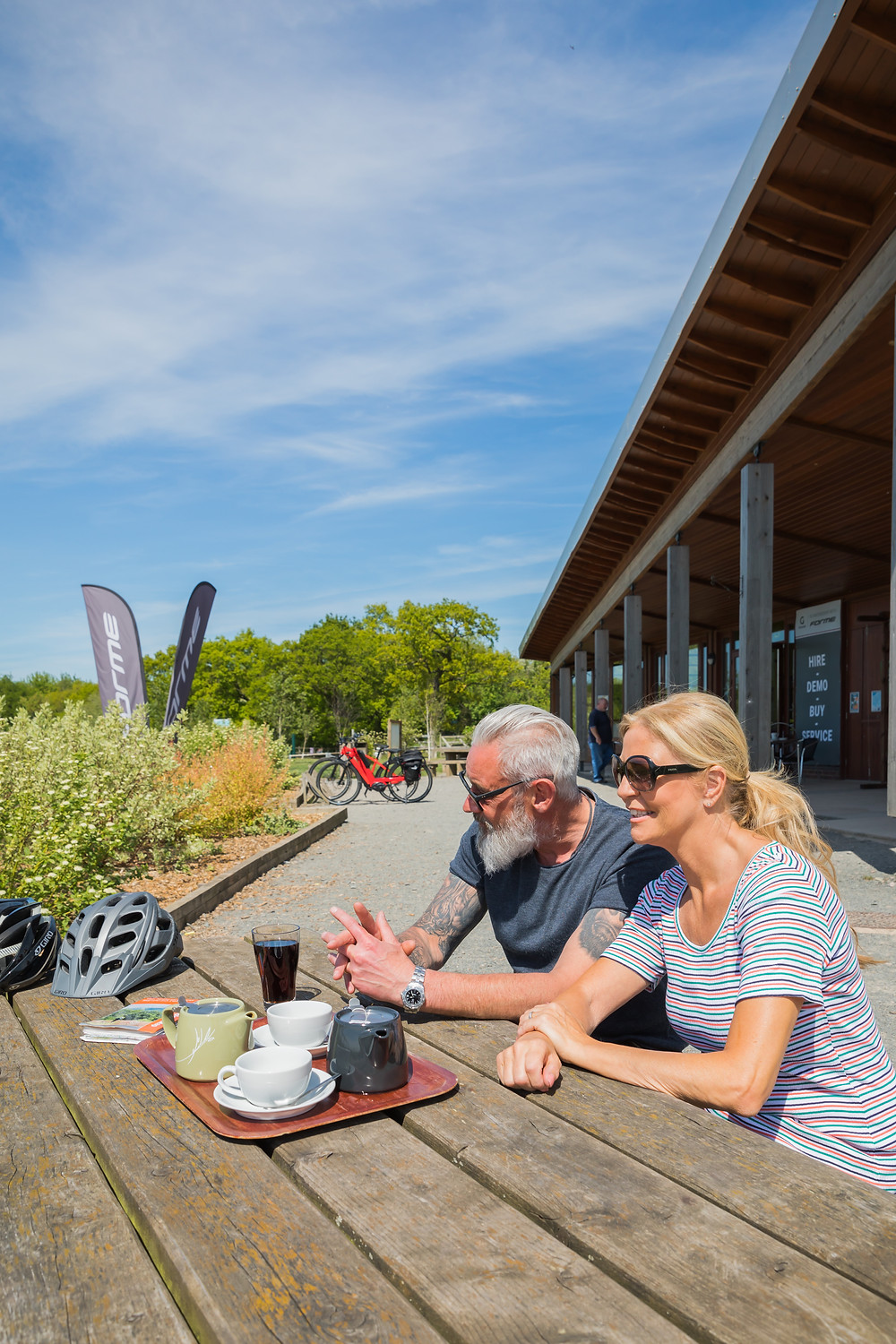 Hicks Lodge Cycling Centre, in the heart of the National Forest