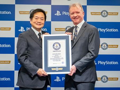 PlayStation entra para o Guiness com 450 milhões de consoles vendidos