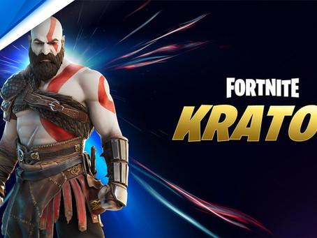 Fortnite anuncia skin de Kratos, de God of War