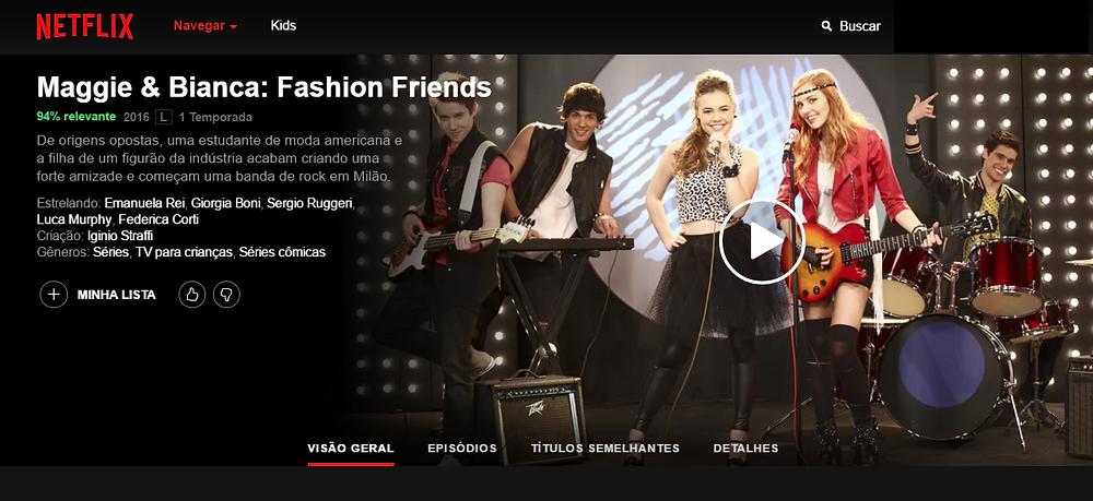 Netflix 1 temporada