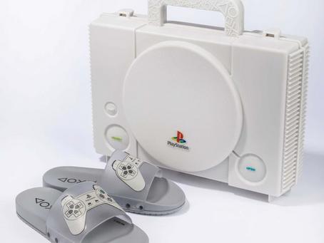 Grendene Kids lança slide inspirado no console original PlayStation