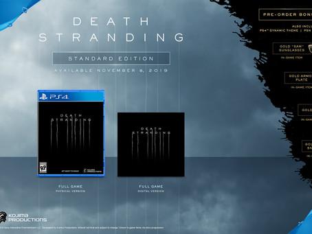 Lançamento de Death Stranding será em 8 de Novembro