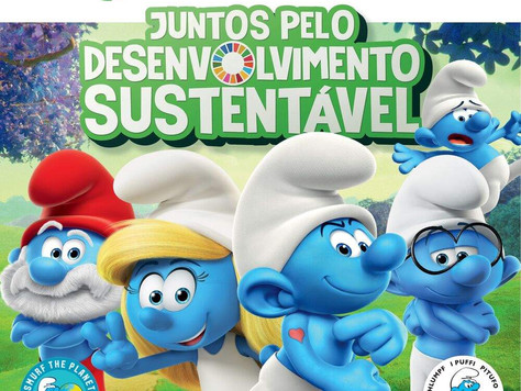 Sicredi e Smurfs unem-se pelo desenvolvimento sustentável