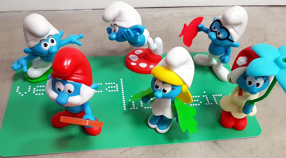 Burger King Smurfs