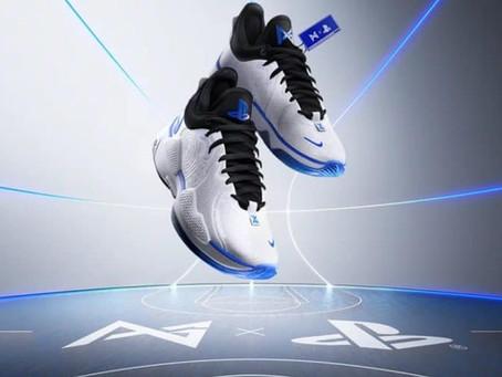 Nova parceria entre Nike e Sony une o astro Paul George e o console PS5