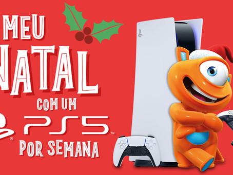 Natal na PBKids sorteia um PlayStation 5 por semana