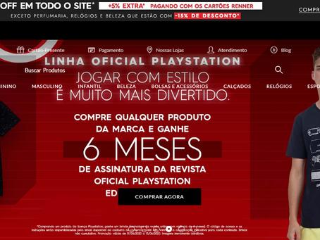 Lojas Renner e Editora Europa unem-se em ação online com PlayStation