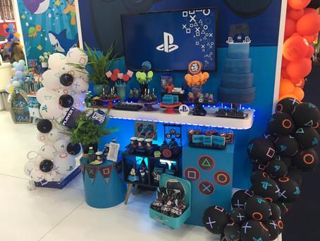 """Festa gamer: para celebrações em """"estado play"""""""