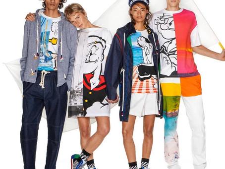 Benetton e Zara: Popeye mais forte do que nunca no mundo da moda