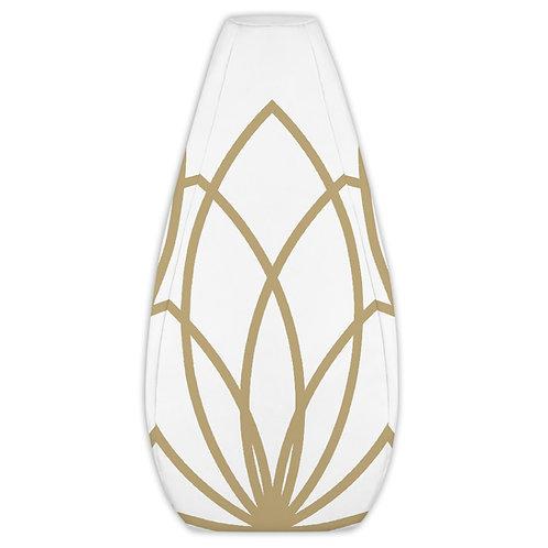 Golden Lotus Bean Bag Chair Cover