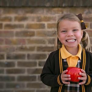 Sofia Starts School