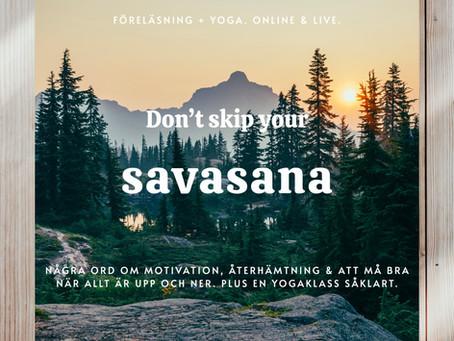 Nytt föreläsningskoncept med fokus motivation och yoga