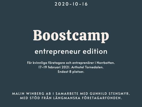 Boostcamp Entrepreneur Edition