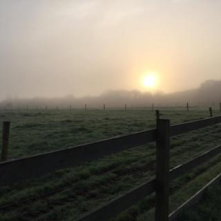 un paysage magnifique (presque) tous les matins
