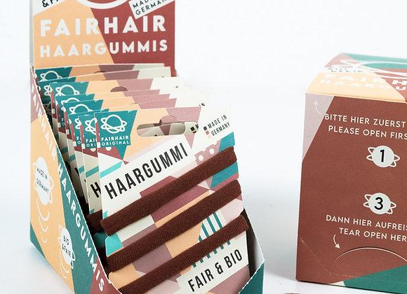 FAIRHAIR Haargummi 3er pack