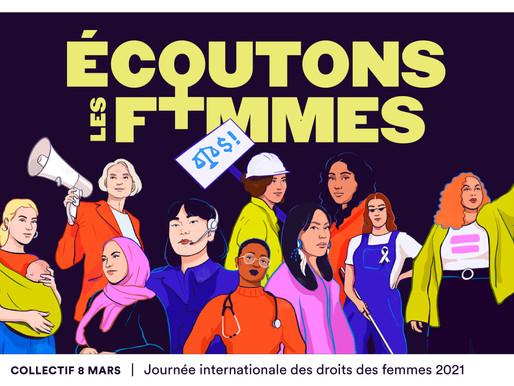 C'est tous les joursque se passe le respect des droits des femmes!