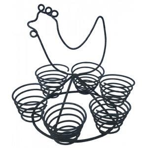 Eierhalter Huhn
