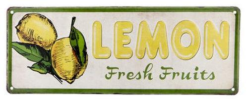 Schild Lemon Clayre & Eef