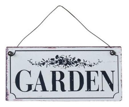 Schild Garden Clayre & Eef