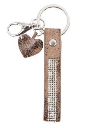 Schlüsselanhänger Glitter Clayre & Eef