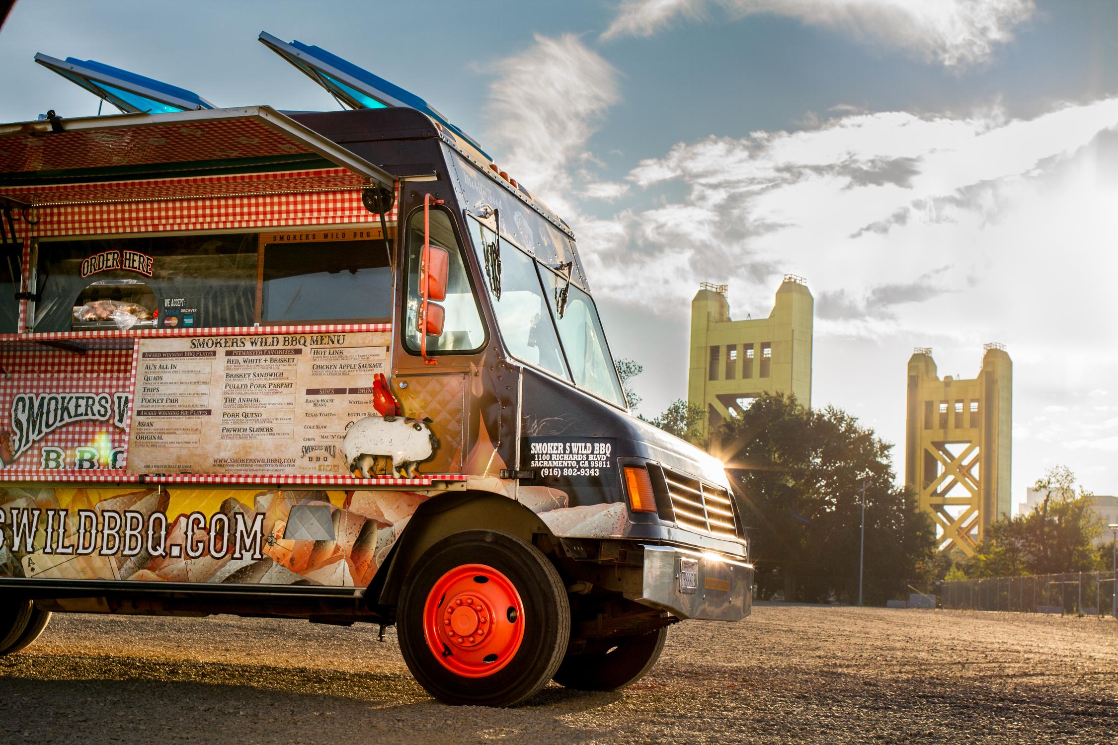 Smokers Wild BBQ food truck