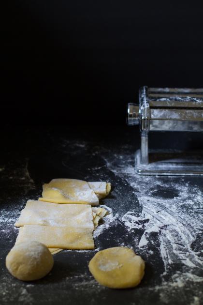 Fresh Pasta Foo photography