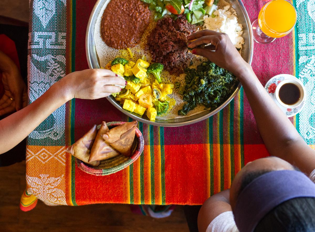 Queen Sheeba Ethiopian Food