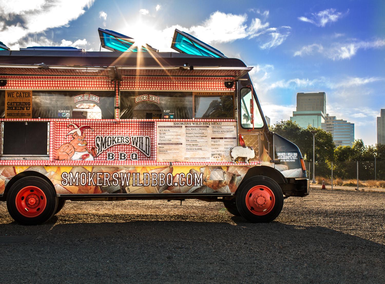 mokers Wild BBQ food truck