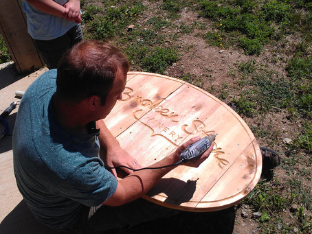 Carving A Sign
