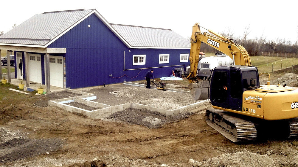 winery expansion foundation