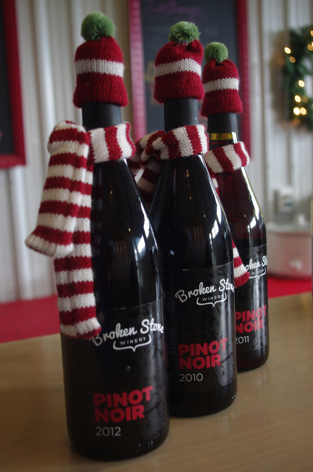 Keeping wine at the perfect temperature for the holidays!
