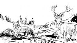 Renard-cerf