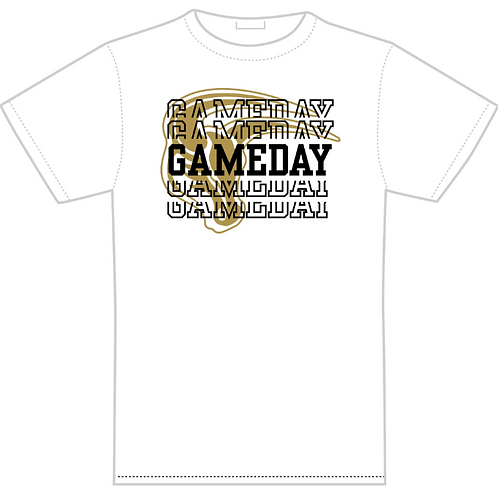 White T-Shirt - Gameday