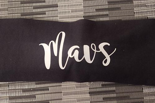 Headband - White Mavs