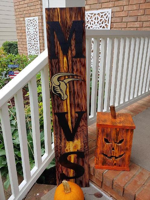 (Pre-Order) Mavs Porch Sign
