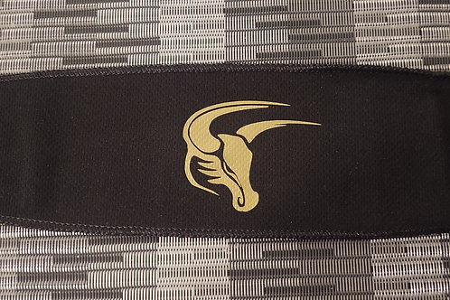Headband - Tie Back Gold Mav Head