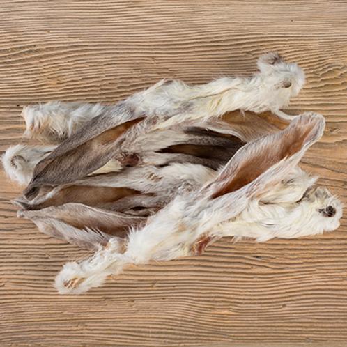 Kaninchenohren mit Fell 100g