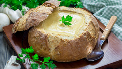Suppen im Brot