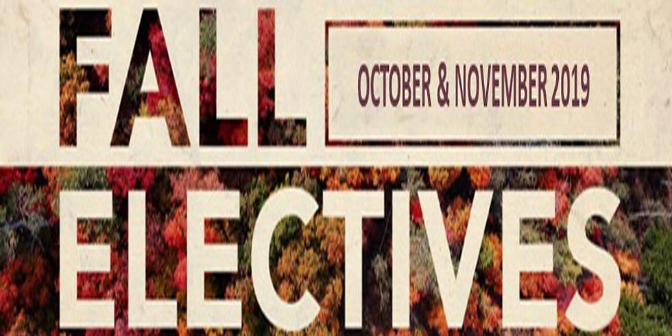 Fall 2019 Christian Education Electives