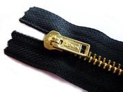 ซิปทองเหลือง #5 หัว Pinlock