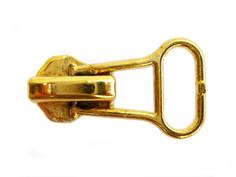 หัวซิปทองเหลือง AUTO ป้ายโปร่ง