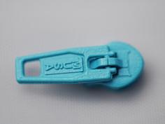 หัวซิปไนลอน PIN-LOCK ทำสี