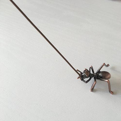 蟻さんお香立て