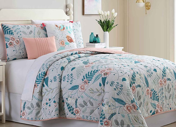 5 Pieces Duvet Set - Geneva