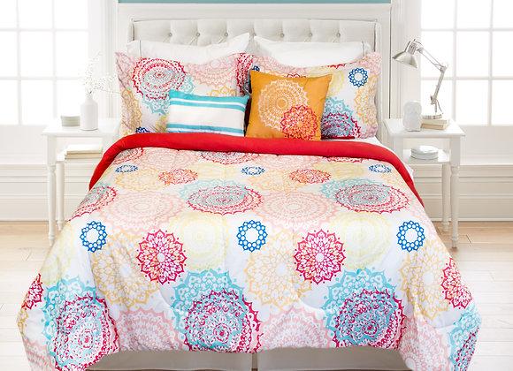 Reversible Comforter Set - Daria