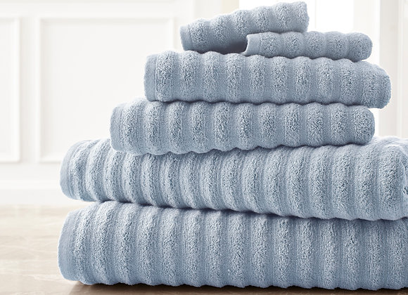 Wavy Luxury Spa Collection Towel Set