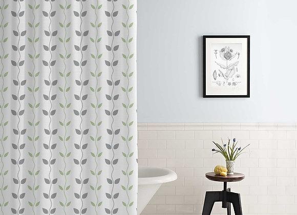 Organic Vines Shower Curtain