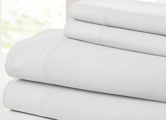 100% Cotton / 400 Thread Count / Wrinkle Guard
